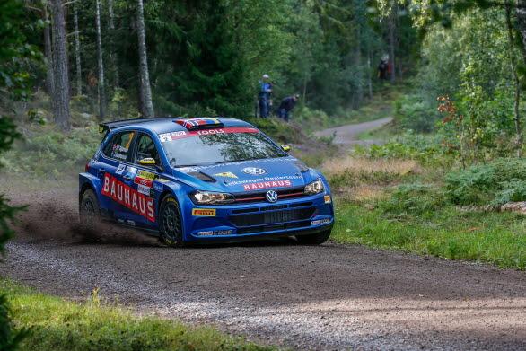 Johan Kristoffersson och Stig Rune Skjaermoen räknar med att bjuda tufft motstånd i East Sweden Rally.