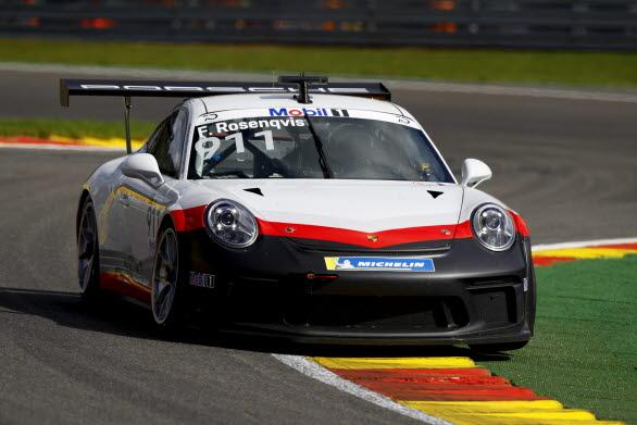 IndyCar-stjärnan Felix Rosenqvist gästspelar i Porsche Mobil1 Supercup 2018.