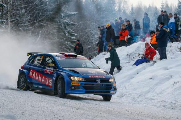 Med Volkswagen Dealerteam BAUHAUS plockade Kristoffersson hem två SM-guld i rallysprint, ett silver i rally-SM och två pallplatser på lika många försök i WRC2.