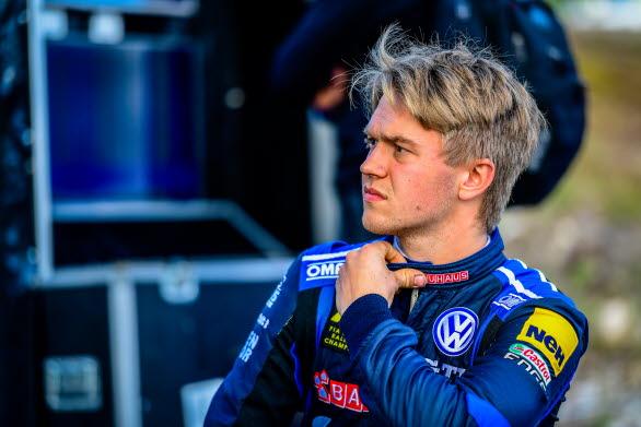 Sondre Evjen lyckades inte så bra i Höljes som han och teamet hade önskat.