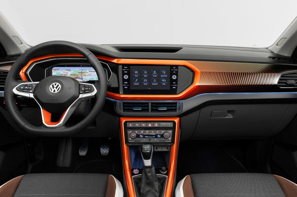 Designpaket Energetic Orange med 3D-dekor.