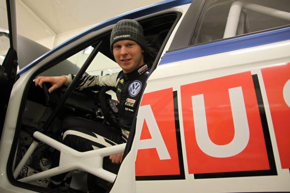 Två intensiva dagar i norska Geilo gav Johan Kristoffersson många svar om teamets Volkswagen Polo R5.