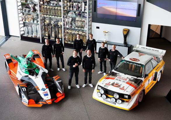 """Audi med """"Dream Team"""" till Dakarrallyt."""