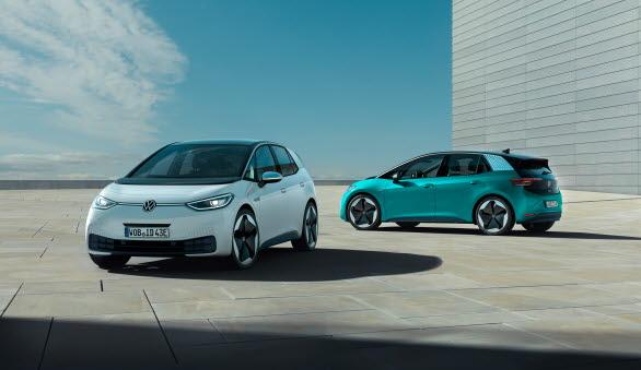 Nya elbilen ID.3 lanseras under sommaren 2020.