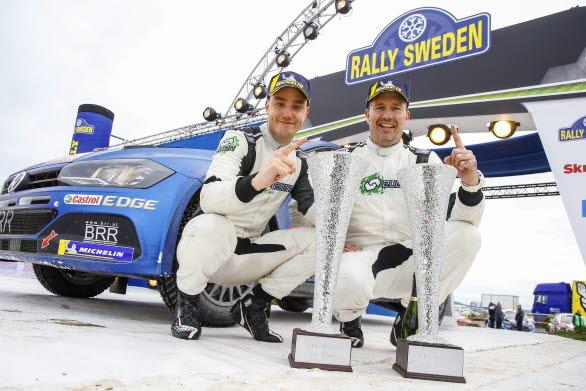 I Rally Sweden blev det seger för Ole Christian Veiby och Jonas Andersson. Fortsätter succén på Korsika?