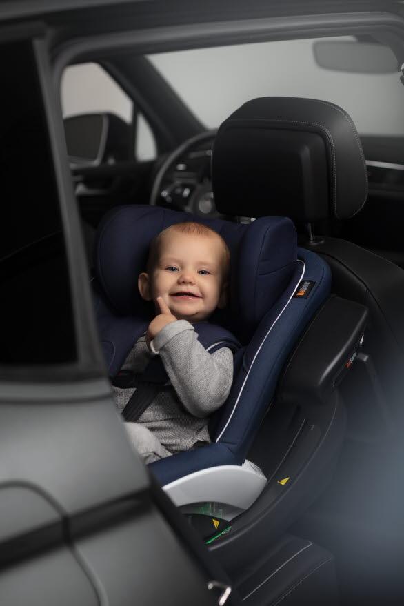 BeSafe, Volkswagen och If vill öka kunskapen  kring barns säkerhet i bil.