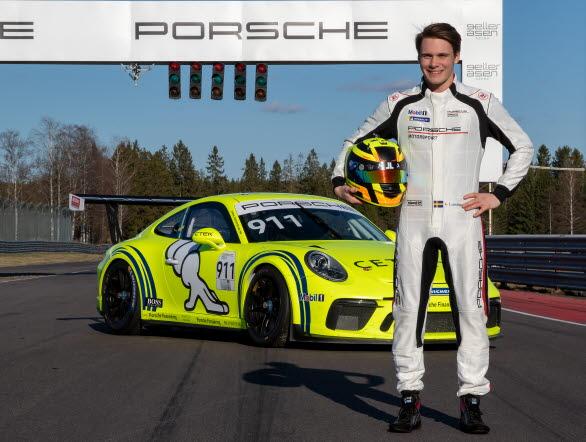 Linus Lundqvist är tillbaka i Porsche Carrera Cup Scandinavia och kommer till start på Scandinavian Raceway 1-2 juni.